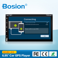 2DIN Android4 4 4 Car Stereo Audio Wifi GPS Navigation Road FM Radio Bluetooth USB SD
