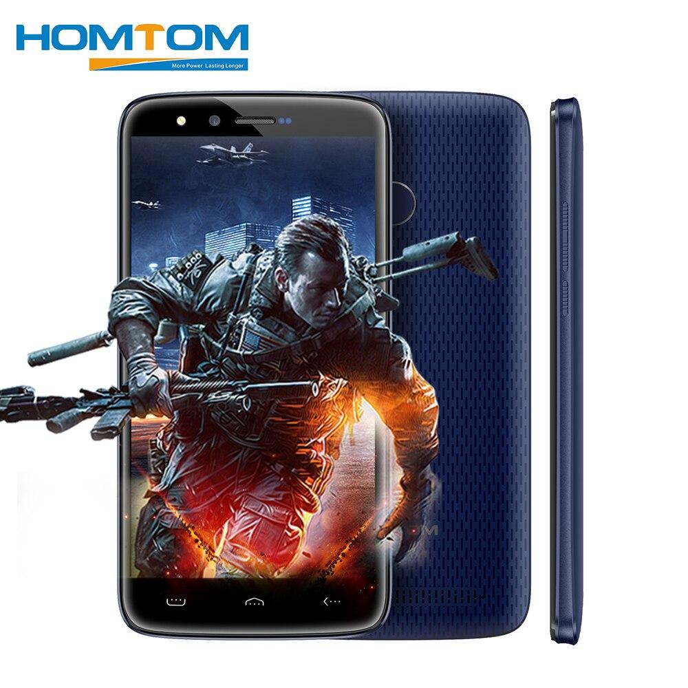 HOMTOM HT50 4 г Android 7,0 MTK6737 4 ядра смартфон 5,5 дюймов 3 ГБ Оперативная память 32 ГБ Встроенная память 8MP + 8MP две камеры 5500 мАч мобильных телефонов