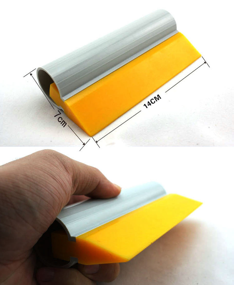 Image 2 - Turbo Squeegee Soft Rubber for Window Tinting Film Tool Water Scraper Wiper MO 45G-in Car Stickers from Automobiles & Motorcycles