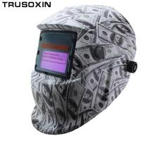 USA Dollar Solar Li Auto Darkening TIG MIG MMA Welding Helmets Welder Goggles Mask Eyes Glasses