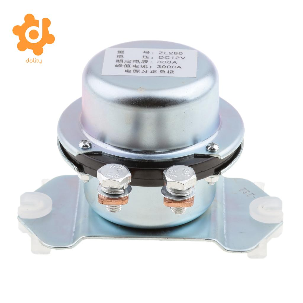 medium resolution of solenoid relay battery isolation switch 12v 300amp continuous duty harbll 2 pcs 12 volt 6 terminal