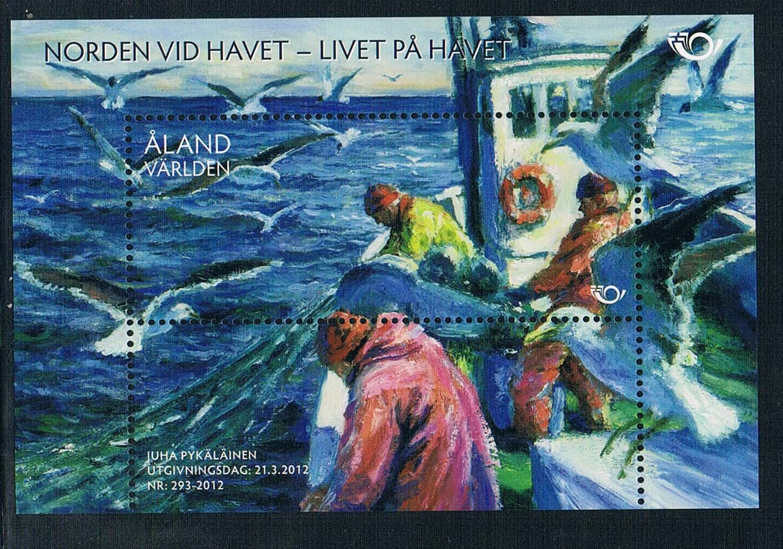 C1691 islands 2012 Nordic Lianfa marine life stamp 1M new 0528  cape verde islands 1 80 000