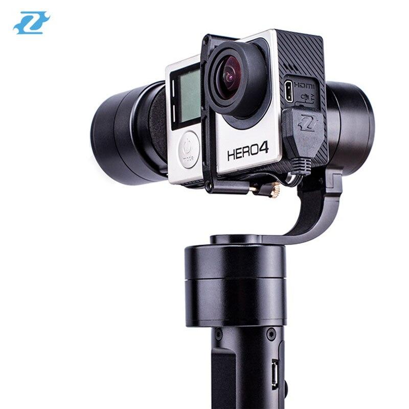 Zhiyun z1 evolution 3 оси Ручные стабилизаторы стабилизатор с 4 джойстик для GoPro xiaoyi экшн камер
