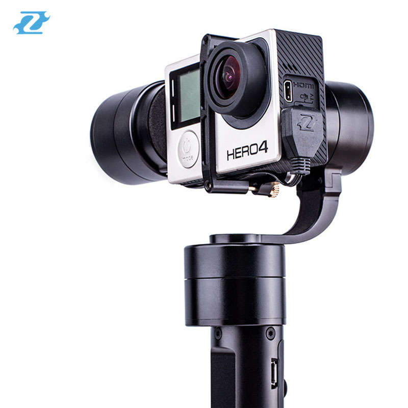 Zhiyun Z1-Evolution 3-Axis Handheld Gimbal Stabilizer with 4-Way Joystick for GoPro Xiaoyi Action Cameras [hk stock][official international version] xiaoyi yi 3 axis handheld gimbal stabilizer yi 4k action camera kit ambarella a9se75 sony imx377 12mp 155‎ degree 1400mah eis ldc sport camera black