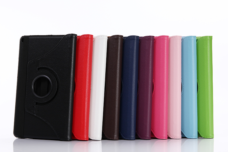 Rotary 360 Degree Rotating Litchi Folio Stand Leather Cover Case For Huawei MediaPad T3 8.0 KOB-L09 KOB-W09 Honor Play Pad 2 8.0
