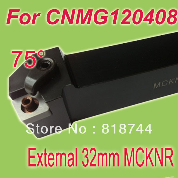 Free Shiping MCKNR 32*32*170mm Shank 3/4''  External CNMG Inserts  Lathe Turning Tool Holder For Lathe Machine free shipping p type cnc tool cutter pclnr 2020k12 external turning tool holder blade lathe cutters
