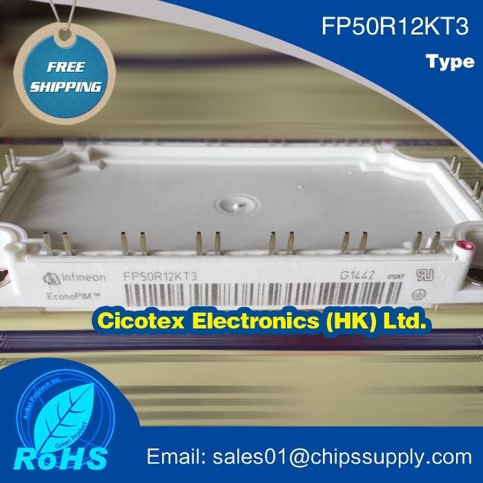 FP50R12KT3 moduły IC IGBT FP 50R12 KT3 moduł VCES 600V 50A FP50R12KT3BOSA1igbt module   -