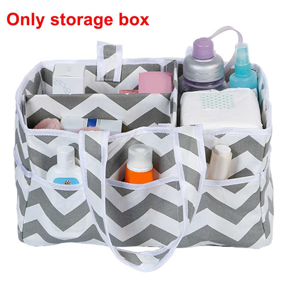Recipiente de Armazenamento Caixa De viagem Útil Dobrável Sacola de Fraldas Cuidados Com o Bebê Portátil Para Casa Berçário Kiddy