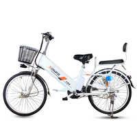 20/24inch elektrische fahrrad 60V Lithium-Batterie Erwachsene 350W Hinten rad Moped Roller Motorrad Batterie Klettern 35 Ebike