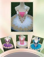 new Professional Ballet Tutus Adult Swan lake Ballet Dance Clothes for girls Pancake tutu Child Ballerina Figure Skating Dress