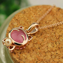 Best Cat Eye Stone Necklace Cheap