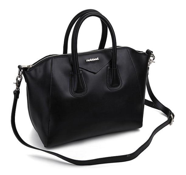 2014 100% Real Cow Genuine Leather Fashion Women Hot Sales Vintage Shopper Shoulder Bag,Red Black Beige,Dropshipping Wholesale *