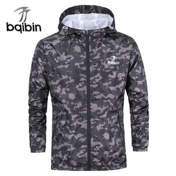 3XL Plus Size 2019 Spring Autumn Mens Casual Camouflage Hoodie Jacket Men Waterproof Clothes Men's Windbreaker Coat Male Outwear - DISCOUNT ITEM  45% OFF All Category