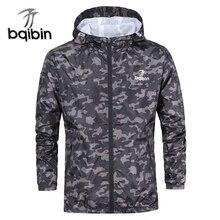 3XL плюс размеры 2019 демисезонный для мужчин s повседневное камуфляжное худи куртка мужчин водостойкая одежда ветровка пальт