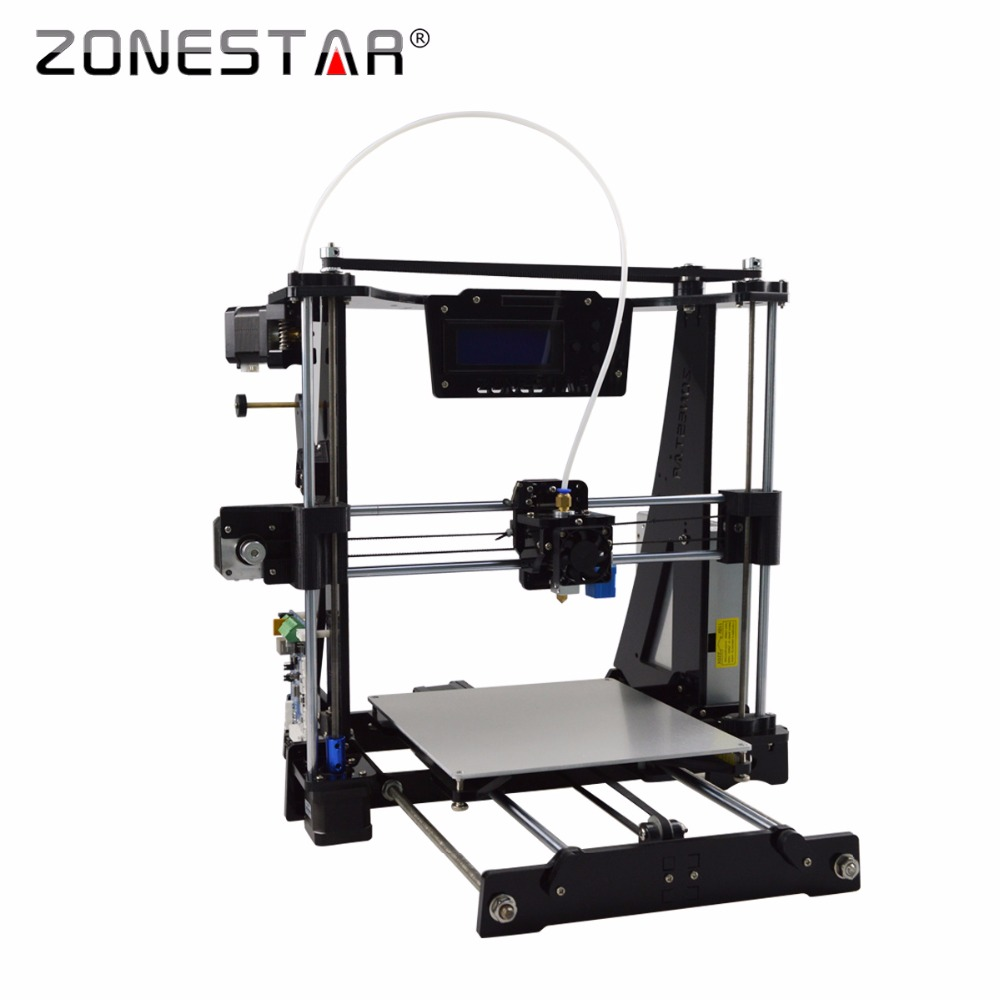 High Precision Reprap Prusa i3 3D Printer DIY kit Bowden Extruder Easy Leveling Acrylic LCD Free Shipping SD Card Filament Tool high precision reprap prusa i3 3d printer diy kit bowden extruder easy leveling acrylic lcd free shipping sd card filament tool