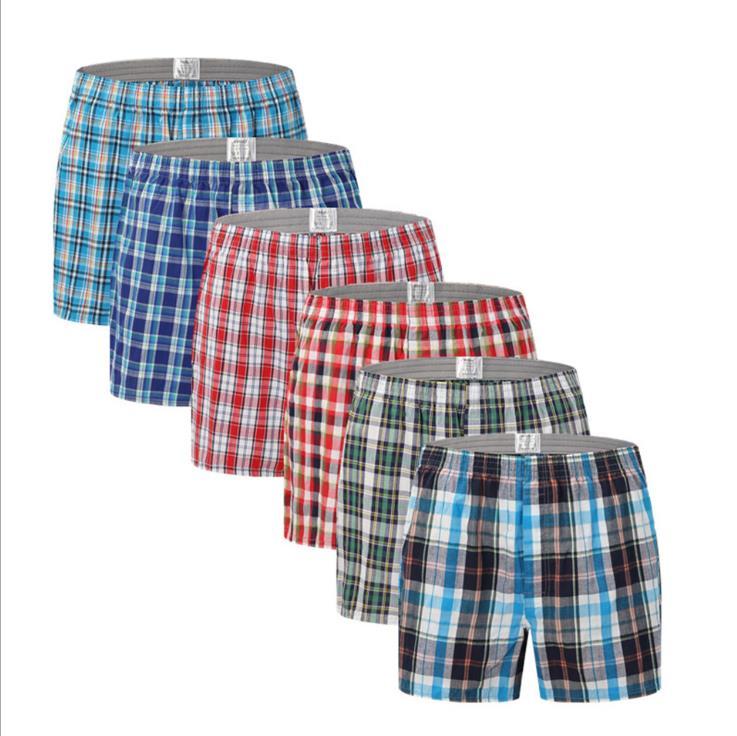 Arrow pants Cotton baggy, boxy home slacks Plus-size men's cotton panties