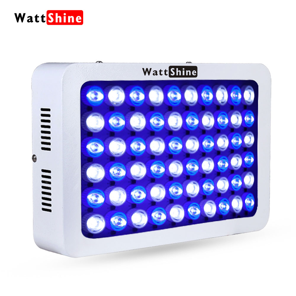 Dimmable 180w Full Spectrum LED Aquarium Light for Reef Coral & Fish Fish Tank Waterproof fixtures aquarium lighting Aquatic