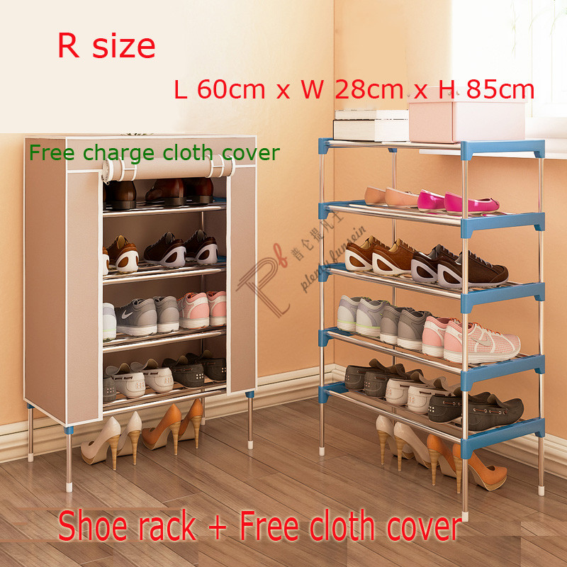 2018 new shoes rack multi-storey living room household assembly cloth shoe cabinet dormitory Organizer Holder Shelf Storage 12 grid diy assemble folding cloth non woven shoe cabinet furniture storage home shelf for living room doorway shoe rack
