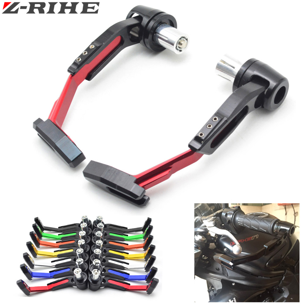 22mm 7/8 Motorbike proguard system brake clutch levers protect for BMW yamaha tmax500 530 Kawasaki z800 z1000 Ninja 636 ZX-6R 1 pair chrome flame shape motorcycle clutch brake hand levers for kawasaki zx 6r 2000 2004 billet aluminum motorbike brake parts