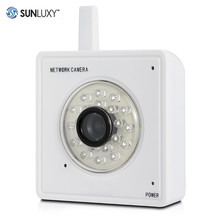 SUNLUXY IP Camera WiFi 720P HD Pan Tilt Infrared Day Night Vision Video Audio Alarm Home Safety CCTV Surveillance Camera Mini319