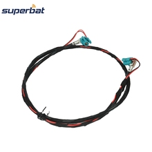 Superbat cho BMW F10 F15 F20 F25 F30 Fakra Z HSD Nữ Jack Right Angle NBT Video Decar 535 Cáp 100 cm(China)
