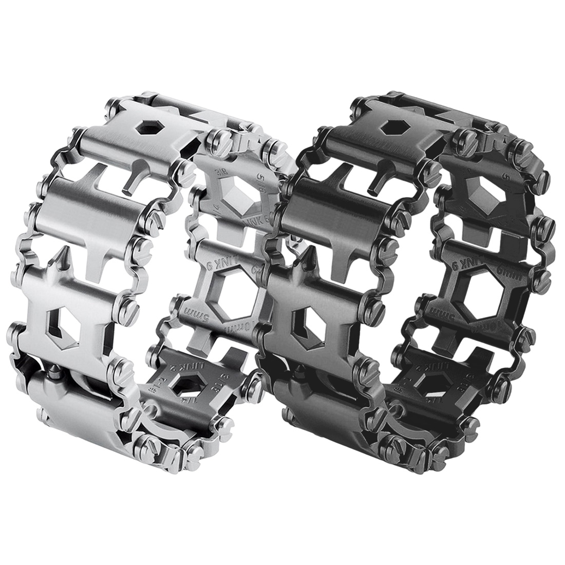 Brand New <font><b>29</b></font> <font><b>In</b></font> <font><b>1</b></font> <font><b>Multi</b></font>-function Wearable Tread <font><b>Bracelet</b></font> Strap <font><b>Multi</b></font>-function Screwdriver Outdoor Emergency Kit <font><b>Multi</b></font> <font><b>Tool</b></font> image