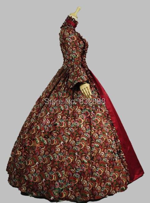 Vruća rasprodaja gruzijske gotičke haljine Victorian Period Dress - Ženska odjeća - Foto 3