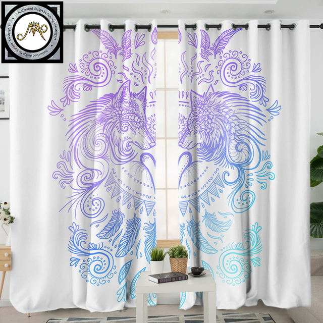 US 20 4 32 OFF Buy Mystery Skull Dreamcatcher By SunimaArt Curtain For Living Room Roses Floral Blackout Window Curtain Gothic