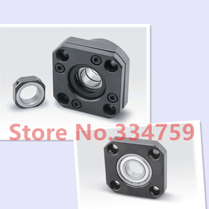 Image 2 - Free Shipping FK12 FF12 Support for Ball Screw  1605 set  :1 pc FK12 Fixed Side +1 pc  FF12 Floated Side for XYZ CNC  parts