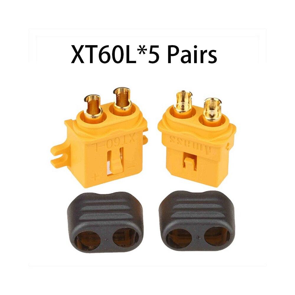 Коннектор AMASS 10 шт. XT60 XT-60 XT 60 XT90 XT60H XT60L XT60U XT60PW XT30U XT90S T Дин EC3 EC5 AS150 XT150 XT30PW XT90PW для Lipo Батарея - Цвет: XT60L
