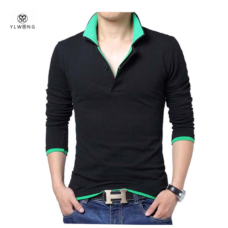 Buy 2017 new solid polo shirt men luxury for Best polo shirt for men