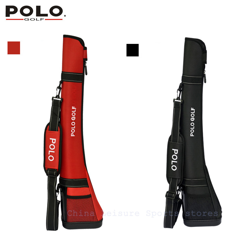 2015 POLO Golf Horseshoe gun bags men travelling club bags small golf bag women sunday lightweight bolsa de sport bag multicolor polo authentic high quality golf gun bags pu waterproof laoke lun men travelling cover 8 9 clubs 123cm golf bolsa de sport bag