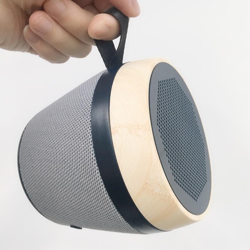 2018 nouveau NR 1018 haut-parleur sans fil basse Portable en plein air tissu Art Subwoofer grande batterie Support U disque TF carte stéréo boîte Audio