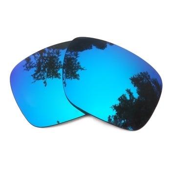 1c2671e25f Azul hielo espejo polarizadas lentes para Holbrook gafas de sol marco 100%  UVA y UVB