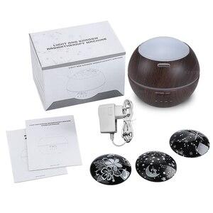 Image 5 - 150ml מכירה לוהטת Ledlight אולטרסאונד אוויר אדים יצרנית ערפל Fogger חשמלי ארומה מפזר שמן אתרי ארומתרפיה ביתי