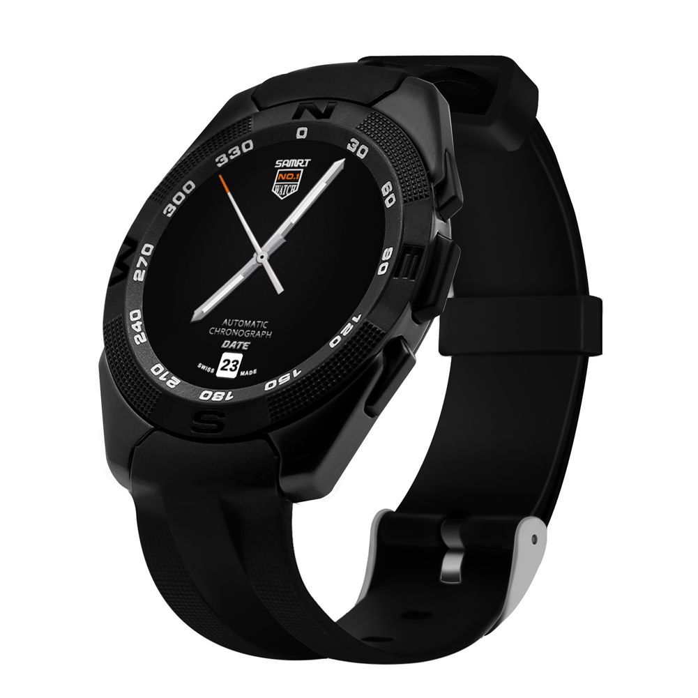 Sport Watch Bluetooth 4.0 With Heart Rate Monitor for Android iOS Sport Watch Waterproof IP67 USB Charging Smart Watch Men