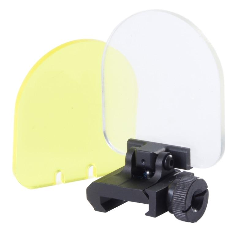 για 551 552 553 556 557 558 Κυνήγι προστατευτικό φακού Airsoft Riflescopes red Green dot sights Προστατευτικό κάλυμμα φακού (BK / DE)