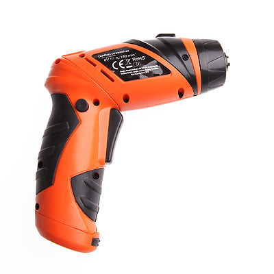 Image 2 - 6V Portable Screwdriver Electric Drill Battery Operated Cordless Wireless +Screwscrewdriver electricelectric drill batterydrill battery -