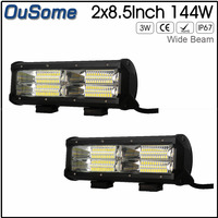 23inch 288w 6D Tri Rows 4X4 Car Offroad LED Light Bar Waterproof Combo Beam LED Driving