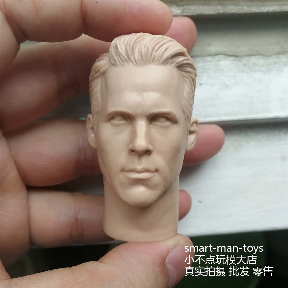 Blank 1//6 scale Anthony Hopkins Head Sculpt Hannibal unpainted
