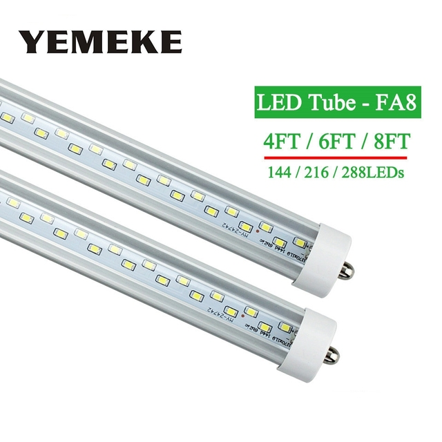 LED tubes Light FA8 T8 4ft 6ft 8ft Led Bulbs Tubes Lights 144led ...