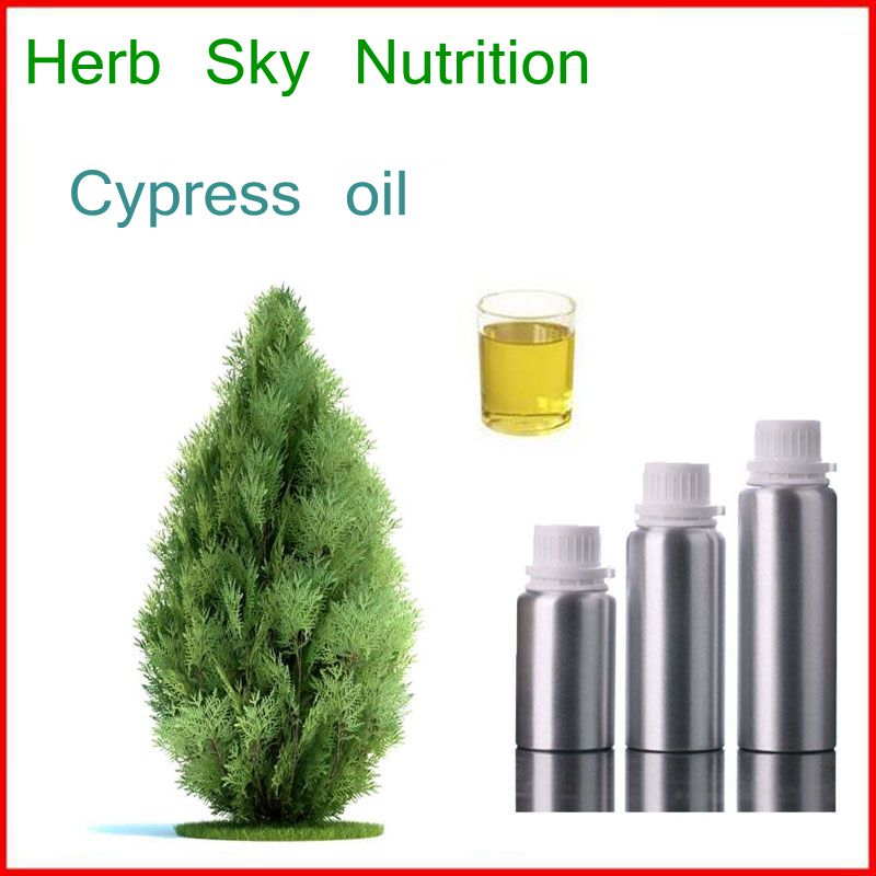 100% natural& pure Cypress oil with free shipping, Virgin oil 100% natural