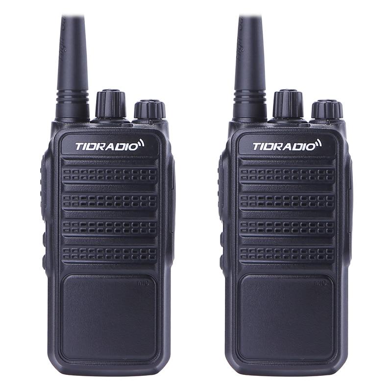 2 pz TID TD-Q2 Walkie Talkie Bidirezionale Radio UHF 400-480 mhz 5 w 16CH CB Radio Portatile stazione Radio del Palmare Comunicador