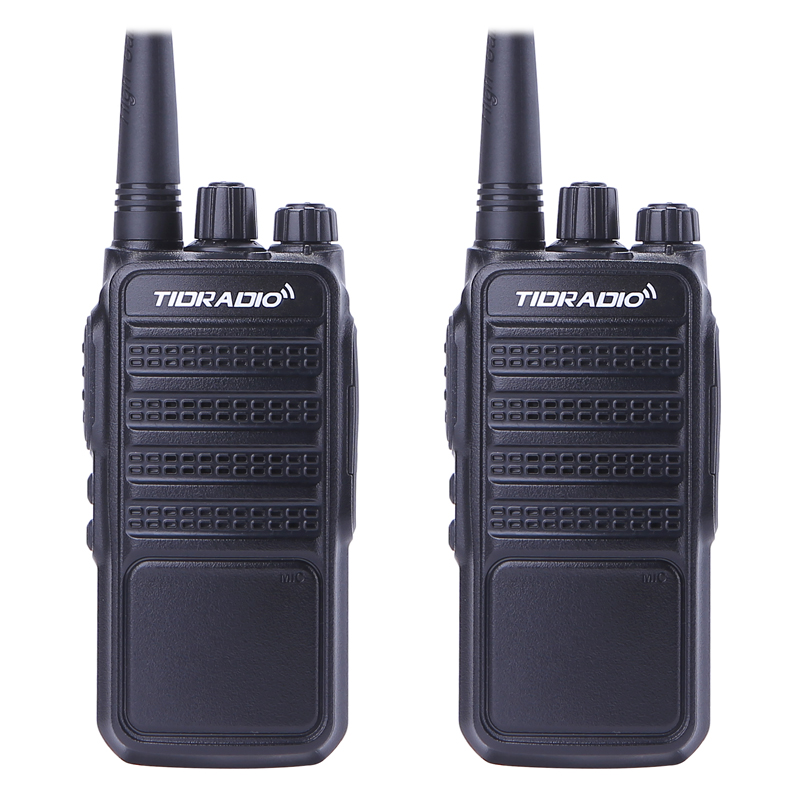 2pcs TID TD-Q2 Walkie Talkie Two Way Radio UHF 400-480MHz 5W 16CH CB Portable Radio Station Handheld Radio Comunicador