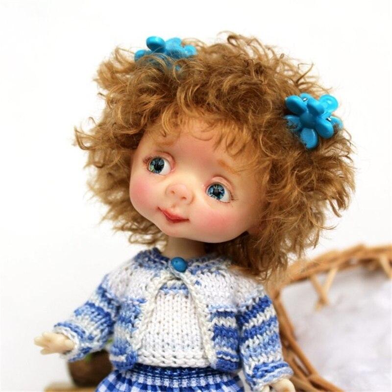 شحن مجاني Dollbom Genny BJD SD دمية 1/8 الجسم نموذج الطفل الفتيات الفتيان عالية الجودة لعب متجر الأرقام الراتنج luodoll-في الدمى من الألعاب والهوايات على  مجموعة 2