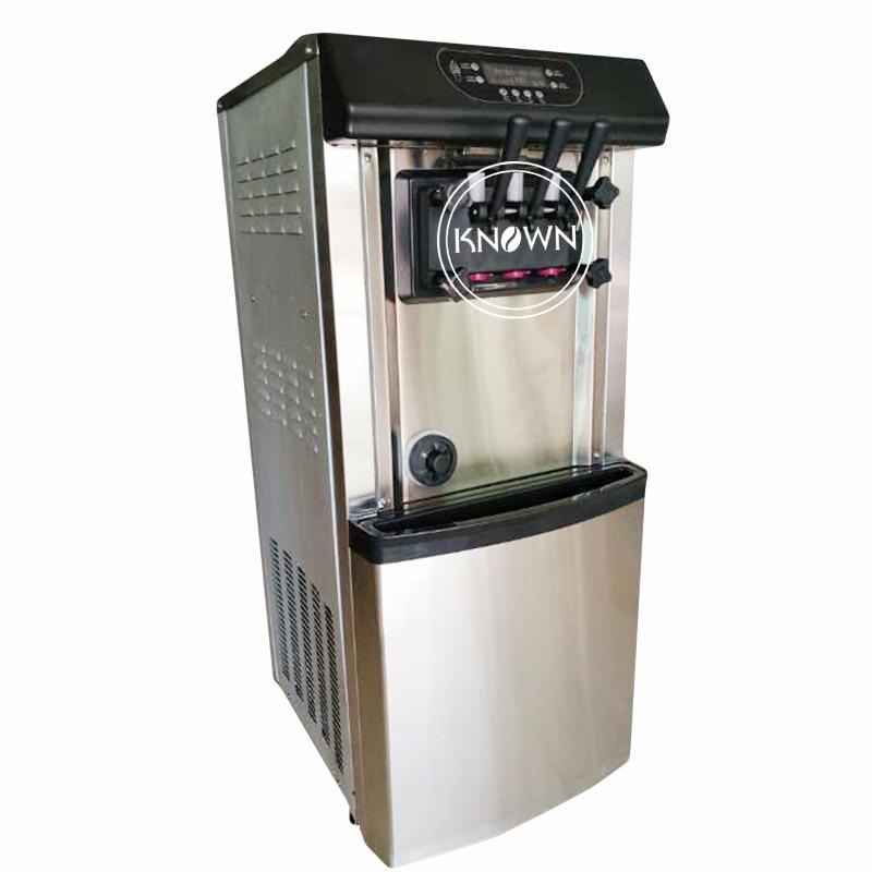 High Production30L/h Automatic Vertical Ice Cream Soft Machine Intelligent Sweetener Ice Cream Making Machine