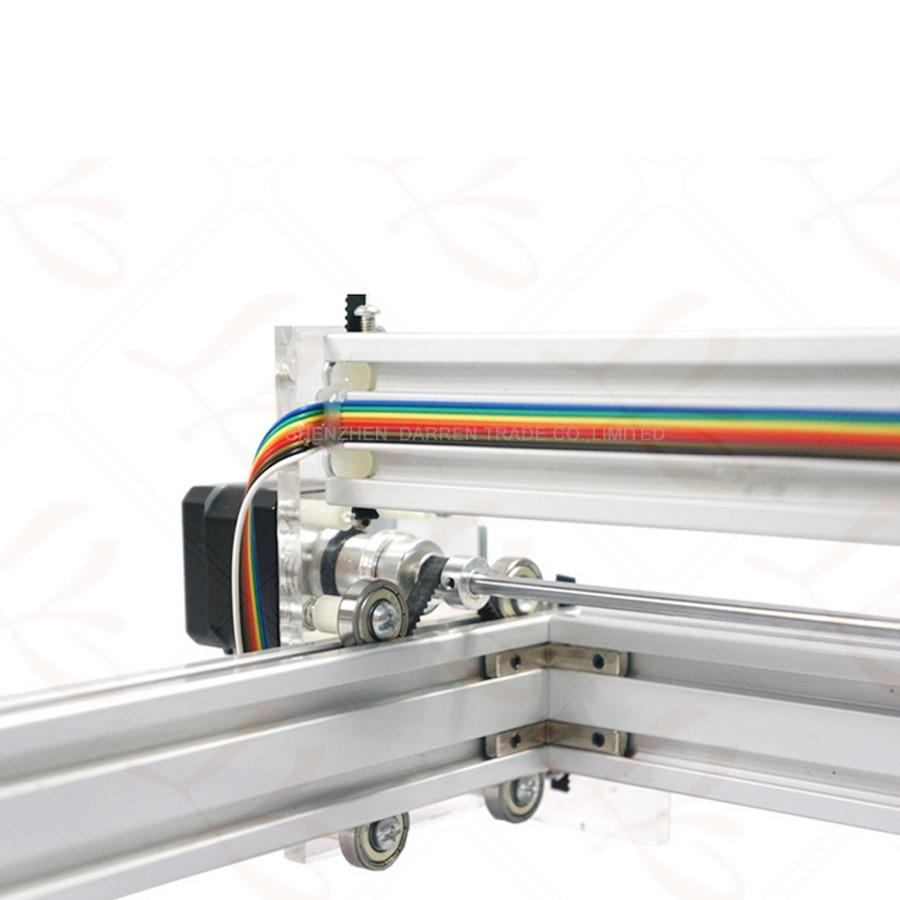 1 шт. 1,5 Вт DIY мини лазерная гравировальная машина 1500 МВт Настольный DIY Лазерный гравер гравировальный станок изображение CNC принтер - 5