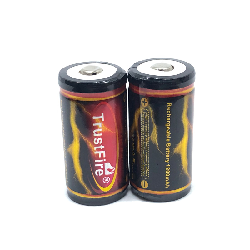20pcs lot TrustFire Protected 18350 Battery 1200mAh 3 7V Rechargeable Li ion Batteries with PCB For LED Flashlights in Rechargeable Batteries from Consumer Electronics