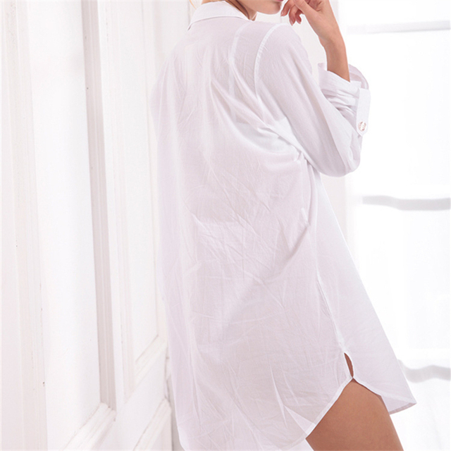 Women's Soft Cotton Nightgown