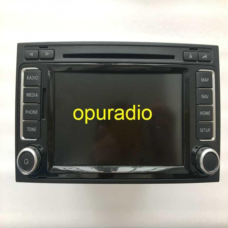 Бесплатная доставка RNS510 SSD светодиодный автомобильный навигационный радиоприемник 7E0 035 682 B для V W T5 Multivan Caravelle Touarreg audio